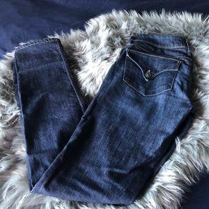 Hudson Collin Flap Skinny Jean Dark Wash
